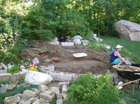 landscape ideas for hillside backyard landscaping photo of quot hillside pond quot posted by weebles64