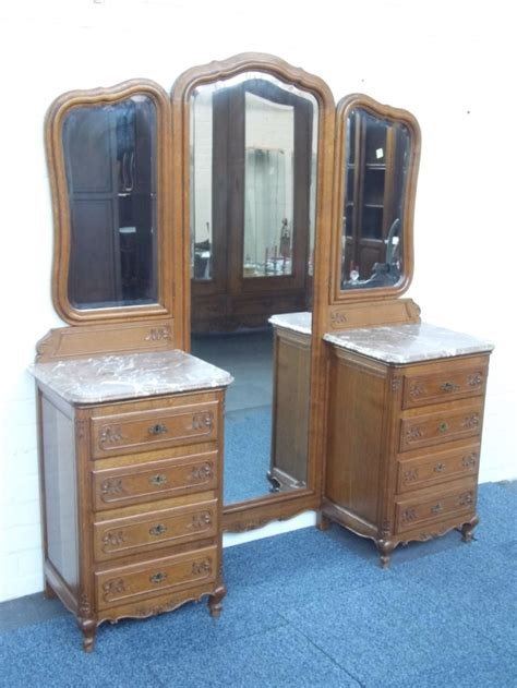 antique marble top dressing table french marble top dressing table cheval mirror 245830