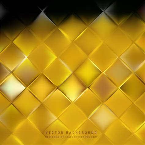 free square pattern background black gold square background pattern 123freevectors