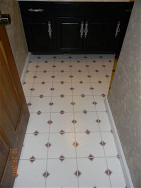 Painting Linoleum/Vinyl Floors   Chicly Cheap Home Decor