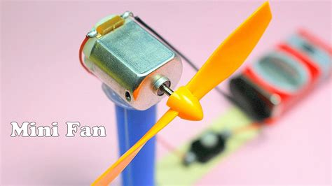 how to make electric fan how to make a mini electric fan mix 5 minute crafts diy
