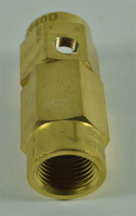 rol air cvxl check valve drilled master tool repair
