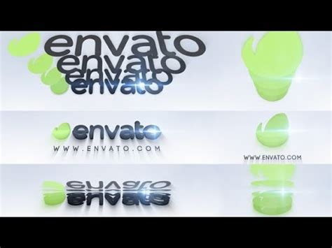 3d Logo Animation After Effects Project Videohive Template Youtube 3d Logo Animation After Effects Template