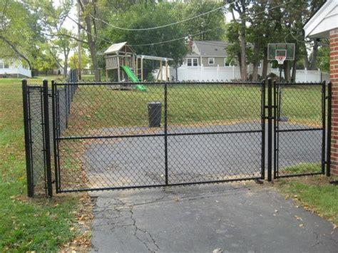 black chaign il fence deck depot inc photo album chain link fencing in illinois