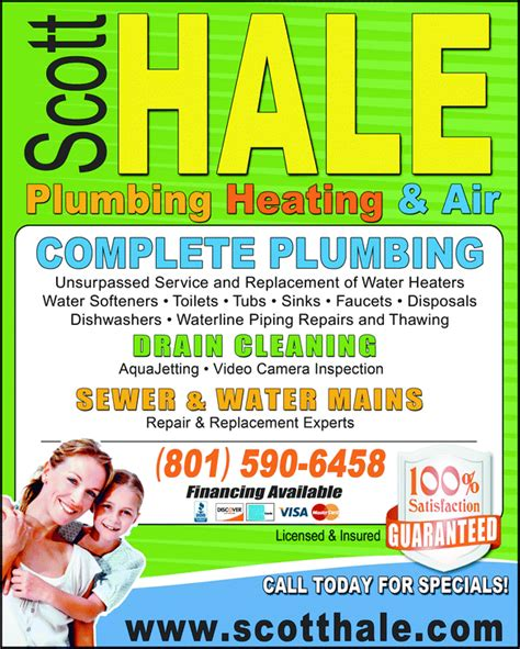 Hale Plumbing by Salt Lake City Drain Cleaning Company Announces Fall