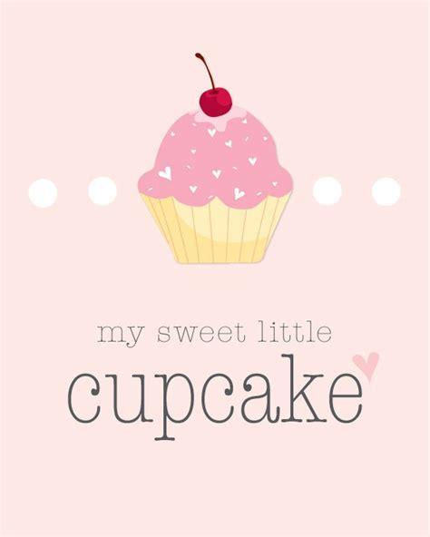my sweet my sweet cupcake nursery printable