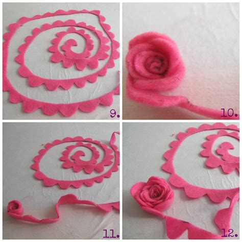 Handmade Felt Flowers Tutorial - felt flower template wallpaper