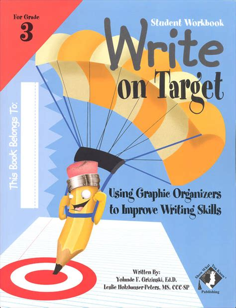 target grade 3 writing 0435183222 write on target grade 3 student workbook 010014 details rainbow resource center inc