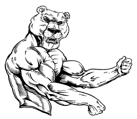 chicago bears mascot coloring pages coloring pages