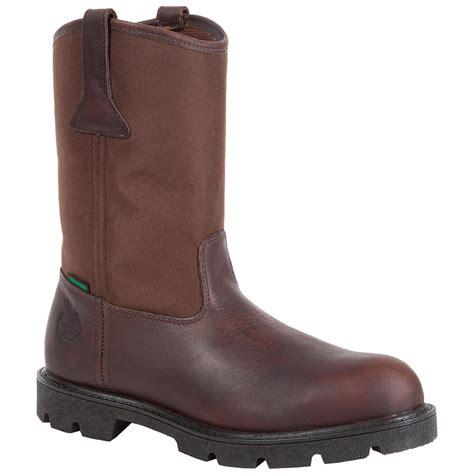 wellington steel toe boots homeland steel toe waterproof wellington boots