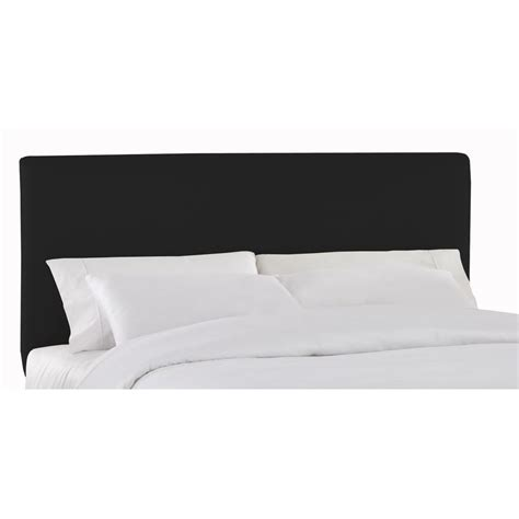 king headboard black prepac sonoma black king headboard bsh 8445 the home depot