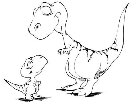 imagenes infantiles grandes dibujos para colorear de dinosaurios para imprimir