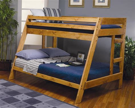 coaster wrangle hill twin full bunk bed 460093 at