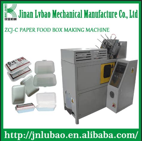 Paper Box Machine - china supplier zcj c paper box machine food