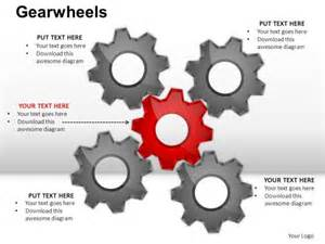 gears powerpoint templates slides and graphics