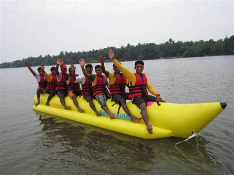 banana boat ride tips sea world in tondavali tripplatform