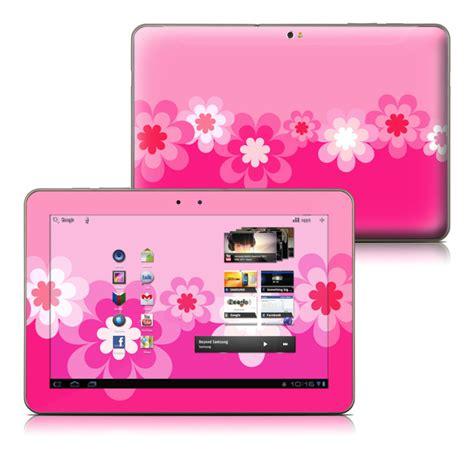 Samsung Tab Warna Pink retro pink flowers samsung galaxy tab 10 1 skin covers