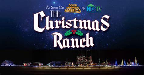 cinco ranch christmas lights the gift of lights at the christmas ranch