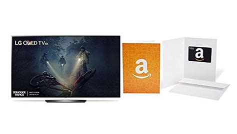 Amazon Gift Card Black Friday Deals - new lg oled tv gift card bundle deals on amazon make it black friday now