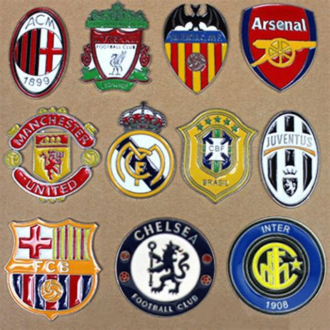 Sticker Stiker Motor Logo Club Bola 3d the uefa football club chelsea emblem car 3d metal stickers and decals for all cars mazda volvo