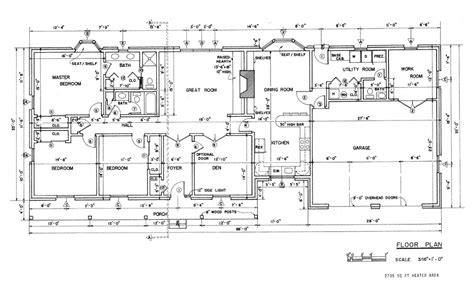 ranch house floor plans with walkout basement ranch house