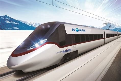 best high speed korail orders 30 new high speed trains from hyundai rotem