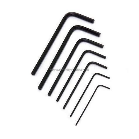 miniature l shaped hex key set allen