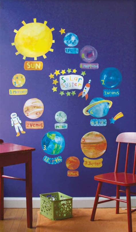 space themed classroom decorations space theme ideas space decal wall stickers decor