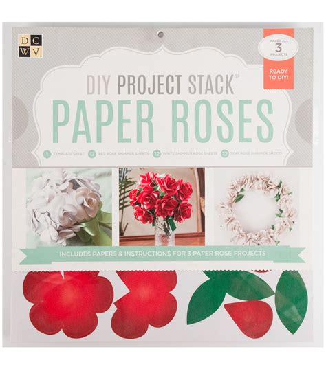 diy project websites dcwv diy project stack paper roses jo