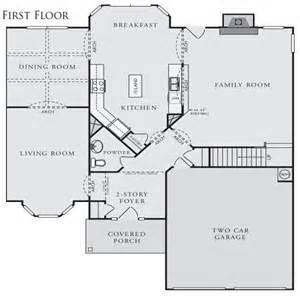 Crown Communities Floor Plans Hunter Plan At Brookwood Estates In Morrow Georgia 30260