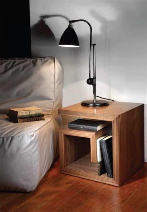 Table De Nuit Contemporaine table de chevet contemporaine en bois g hmd interiors