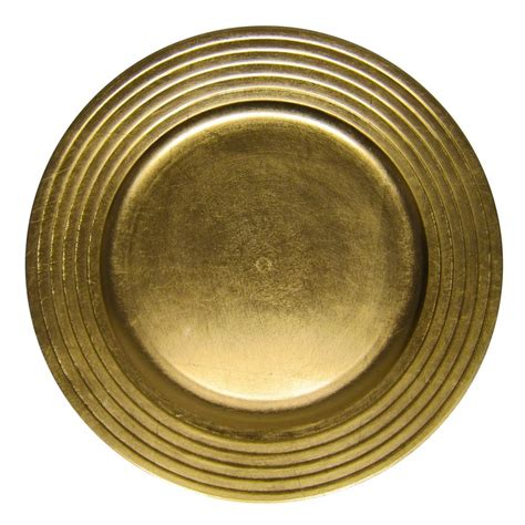 gold charger plates 1 decorative charger plate gold 1 49 home decor