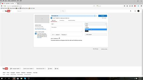 youtube tutorial upload video how to upload a video on youtube tutorial easy youtube