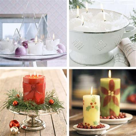 decorare candele per natale natale idee per decorare la tavola blogmamma it
