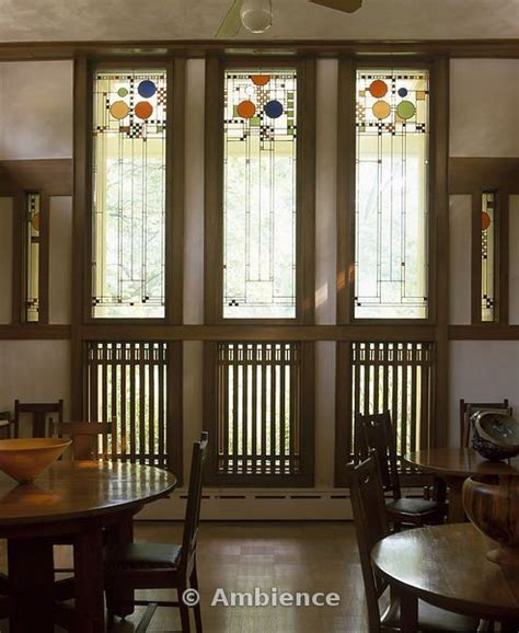 coonley house windows frank lloyd wright glasses and roads on pinterest
