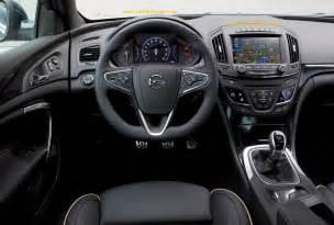 Opel Insignia Interior New Opel Insignia My 2014 Interior Design