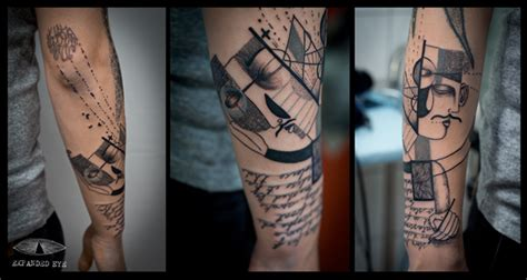 cubism tattoo your s story told in cubist tattoos design