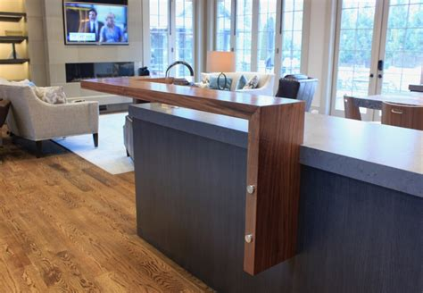 floating bar top walnut countertops j aaron