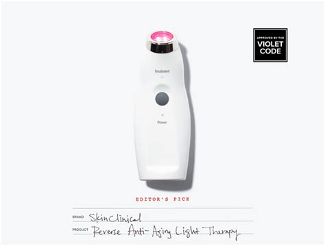 Skinclinical Reverse Anti Aging Light Therapy Violet Grey