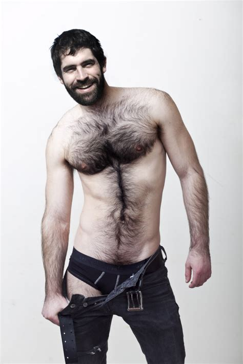 no pubes men this hunk s chest hairy is perfect