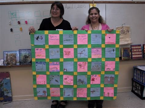 Paper Quilts Suzanne Koptur Classroom Quilt Template
