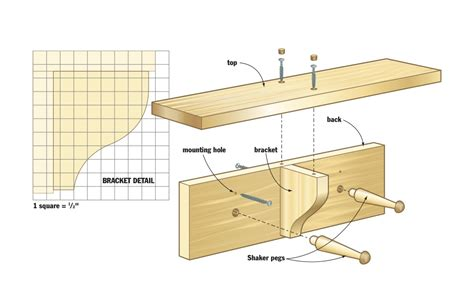 woodwork coat rack woodworking plans  plans