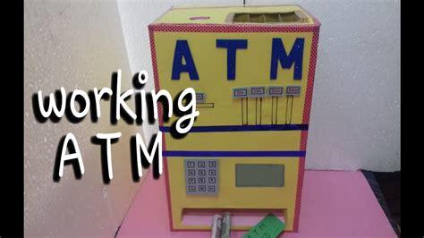 how to make atm card how to make atm machine atm card machine school