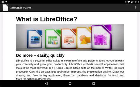 libreoffice viewer beta aplicaciones de android en play - Android Libre