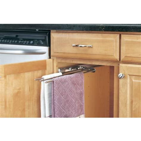 kitchen cabinet towel bar cabinetstorage com kitchen cabinet 3 prong towel bar by
