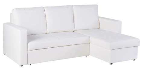 Corner Sofa Toronto by 3 Seater White Corner Sofa Bed Toronto Maisons Du Monde