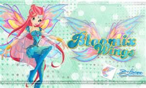 bloom bloomix wings mishair deviantart