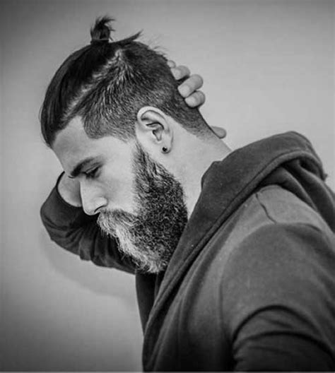 ponytail hairstyles for guys 15 men ponytail hairstyles mens hairstyles 2018