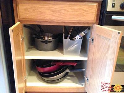 decluttered meaning how to declutter pots and pans other cookware
