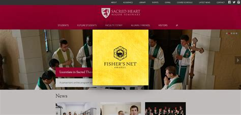 best site awards seminary website wins award for best education site